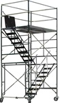 12 Foot Rolling Scaffolding Stair Tower