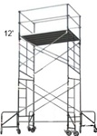 12 Foot Rolling Scaffolding Tower