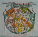 Mens 'Amalgamation Tour' (Gray) Europe 2009 T-Shirt by Ledbetter