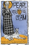 Pearl Jam Original Summer Tour Rock Concert Poster - Ames