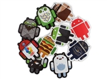 Android Foundry Stickers Set B Pack of 10 Stickers