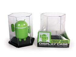Single Hexagonal Android Display Case by Android Foundry