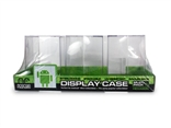 3 Pack of Hexagonal Android Display Cases by Android Foundry