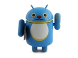 Blue Luck in Career Android Lucky Cat Series Vinyl Mini Figure Andrew Bell