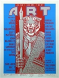 Art Benefit 2 Original Signed Silkscreen - Rick Griffin, Stanley Mouse, Victor Moscoso, Alton Kelley, and Wes Wilson