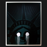 """Liberty"" Limited Edition Screenprint by Justin Atallian"