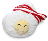 Bacon & Eggs Squishable Plush - ThinkGeek