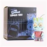 Zombie Bart Blue Simpsons Vinyl Collectible Figure by Kidrobot