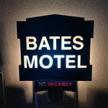 Bates Motel Vacancy Night Light Psycho