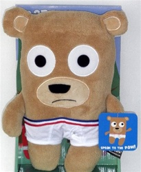 Bear in Underwear Plush- Honey