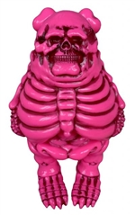 Big Boner Popaganda Pink Edition Designer Vinyl Figure Ron English X Blackbook
