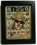 Bingo Card titled 'Free' by Dan May
