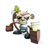 Business Monkey Designer Vinyl Figure Joe Ledbetter Munky King