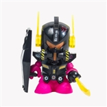 "BLACK 'Bot Mini Damgun 3"" Vinyl Figure Model Kit"