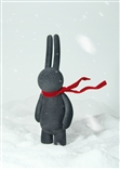 Charcoal Blowing in the Wind Petit Lapin Museum Designer Vinyl Figure Mr Clement