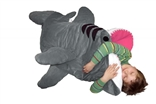 Chumbuddy 3 Jr. Kids 'Great White Edition' Shark Designer Plush Sleeping Bag