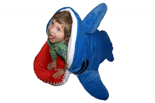 Patch together chum buddy shark sleeping bag for sale