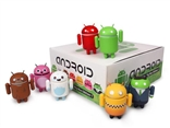 Complete Series of 7 Big Box Edition Mini Android Figures