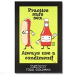 Condiments Stupid Factory Poster By Todd Goldman