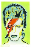 'David Bowie' Original Painting by artist Jason Adams