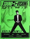 David Bowie Sound+Vision 1990 Poster Green Edition