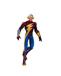 Dc Comics Earth 2 The New 52 Flash Action Figure Nicola Scott Phil Ramirez