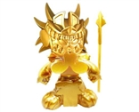 Death Serpent (Gold Edition) Designer Vinyl Figure by Jesse Hernandez & KusoVinyl