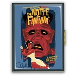 De Notte Fantami Retro Pop Art Cigarette Case by Ragnar