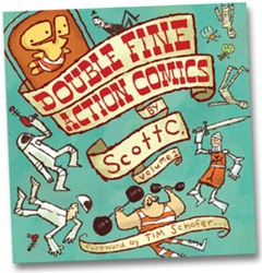 Double Fine Action Comics - Scott C.