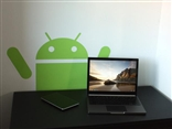 "Giant 22"" x 14"" Drop Down Android Wall Decal By Android Foundry"