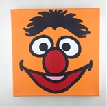 Ernie Sesame Street Original Painting On Canvas By Artist Todd Goldman