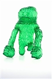 Forest Monsta Clear Green Edition Sofubi Kaiju Vinyl Figure by Waotoyz