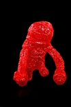 Forest Monsta Clear Red Edition Sofubi Kaiju Vinyl Figure by Waotoyz