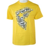 Stone Logo (Yellow) T-Shirt by Famous Stars & Straps