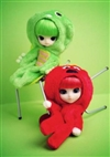Gachapin x Mukku Set Of 2 Docolla Pullip Fashion Dolls