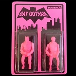 Suckadelic Gay Gotham  Set Of 2  Batman & Robin