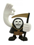 Ghetto Reaper 'Gold & Cold' Designer Vinyl Art Toy Figure by Very Bravo