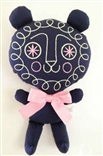 GID Spark Tiger Glow In The Dark Designer Plush by Anna Chambers