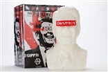 "'The Gipper"" White Limited Edition Designer Vinyl Art Bust by Frank Kozik"