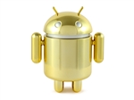 Gold Android Series 4 Designer Vinyl Mini Figure Google