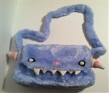 Blue Gooli Shummi Plush Purse Bag by Dr. Krinkles