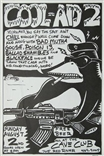 Kozik Cool Aid 2 Rock Concert Handbill Poster Signed Bad Mutha Goose Poison 13