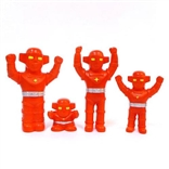 Set Of All 4 Fake Baron Sofubi Mini Vinyl