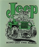 "Ed 'Big Daddy"" Roth Jeep King Original 1960'S Decal Sticker"