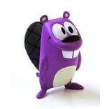 Purple Edition Get Lucky Beaver Designer Vinyl Mini Figure By Jeff Pidgeon