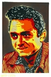 'Johnny Cash' Original Painting by artist Jason Adams