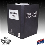 "Twilight Zone Kanamit ""To Serve Man"" Cookbook Journal"