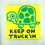 Keep On Truck'in (Turtle) Original Painting On Canvas By Artist Todd Goldman