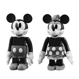 Mickey & Minnie Disney Pack of 2 Kubrick Figures