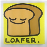 Loafer (Bread) Original Painting On Canvas By Artist Todd Goldman